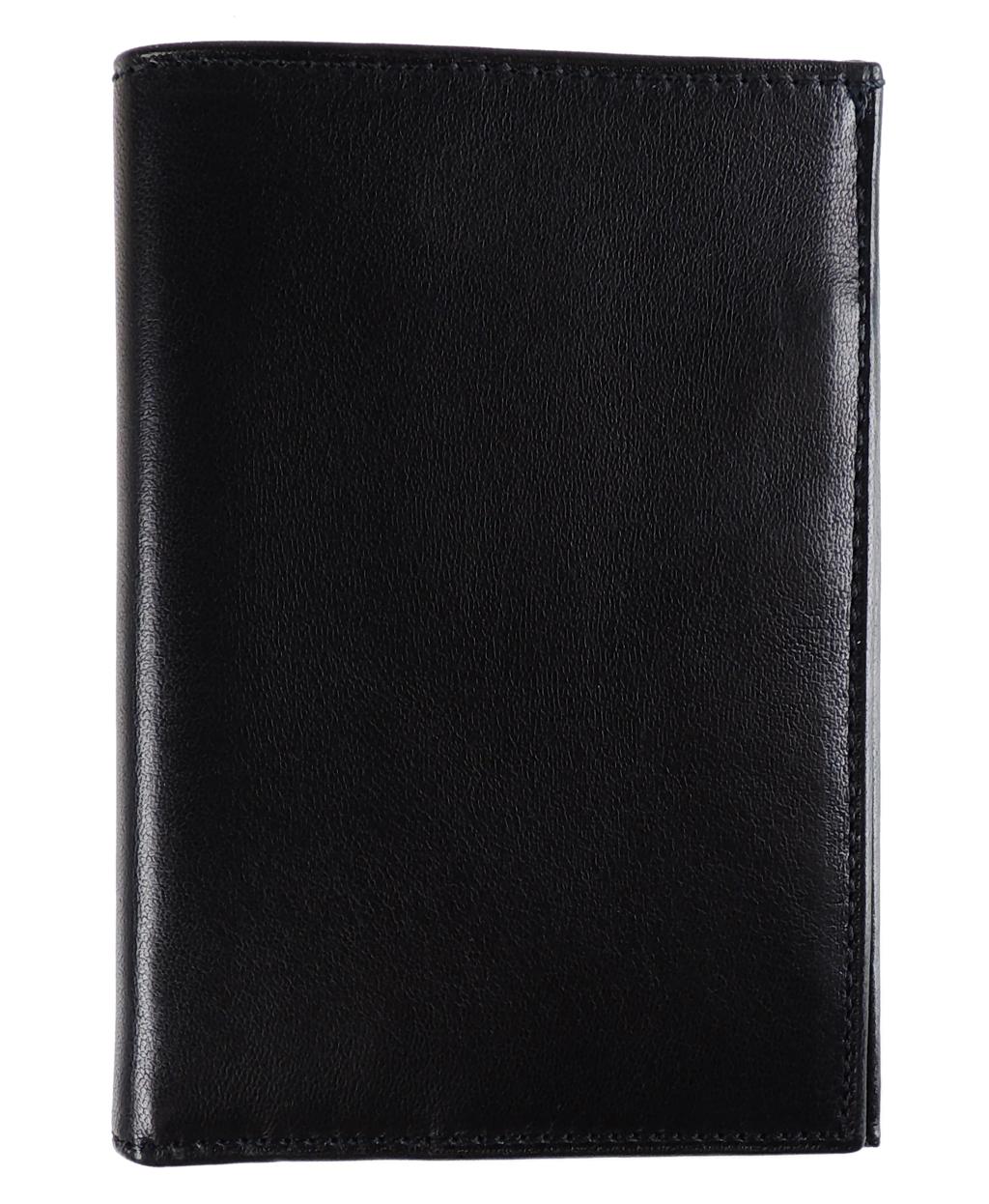 322e38180a Al Pascià - Wallet Bi-Fold AP345 - Black - 003 - Leather items -